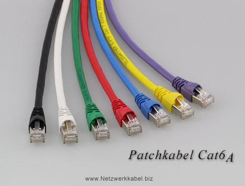 Patchkabel Cat6a