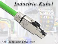 Industrie Patchkabel Cat.6A, Schleppkettenkabel, Länge: 10m